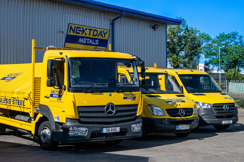 NextDay Metals Trucks